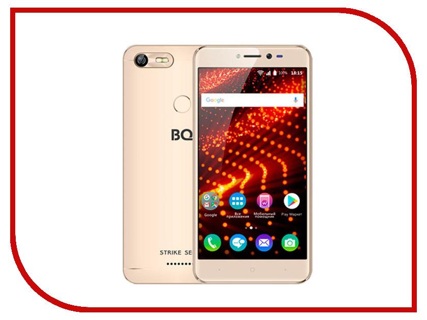 Сотовый телефон BQ 5204 Strike Selfie Gold bask light 55 m 5204