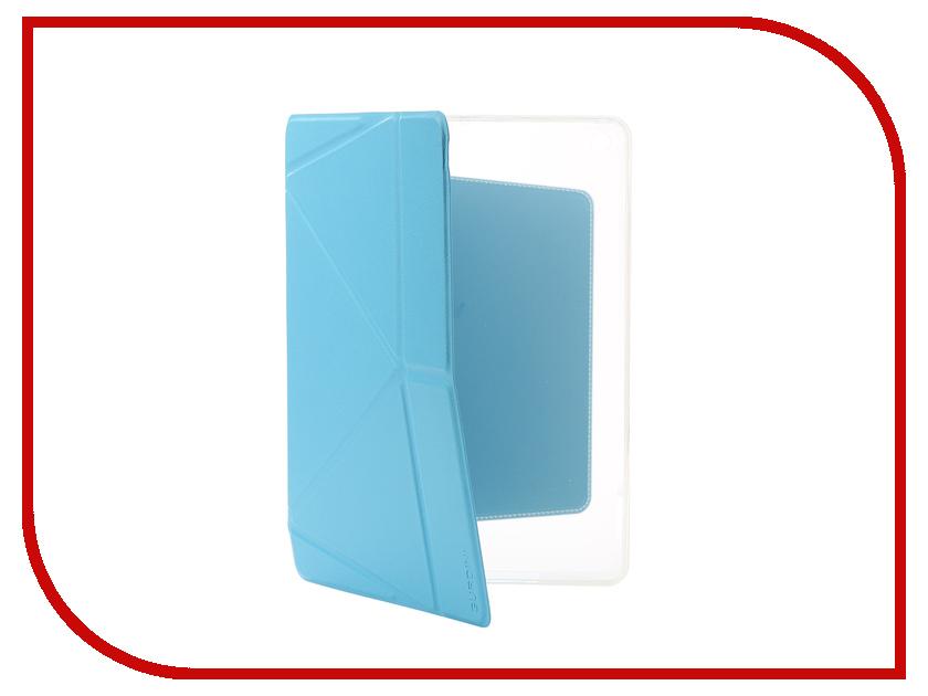 все цены на Аксессуар Чехол Gurdini Lights Series для APPLE iPad 9.7 NEW 2017-2018 Blue 903668