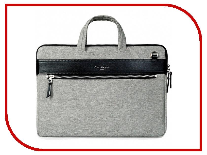 Аксессуар Сумка 13-inch Cartinoe Tommy Series для Macbook 13 Grey