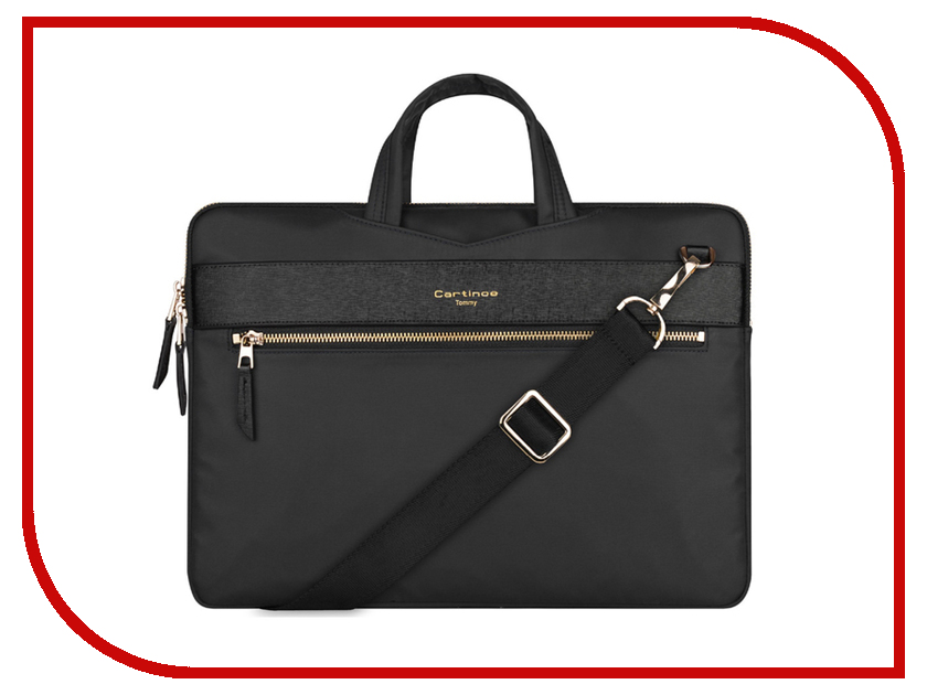 Аксессуар Сумка 13-inch Cartinoe Tommy Series для Macbook 13 Black 904387 аксессуар сумка 13 inch ddc eco series для macbook 13 black 904554
