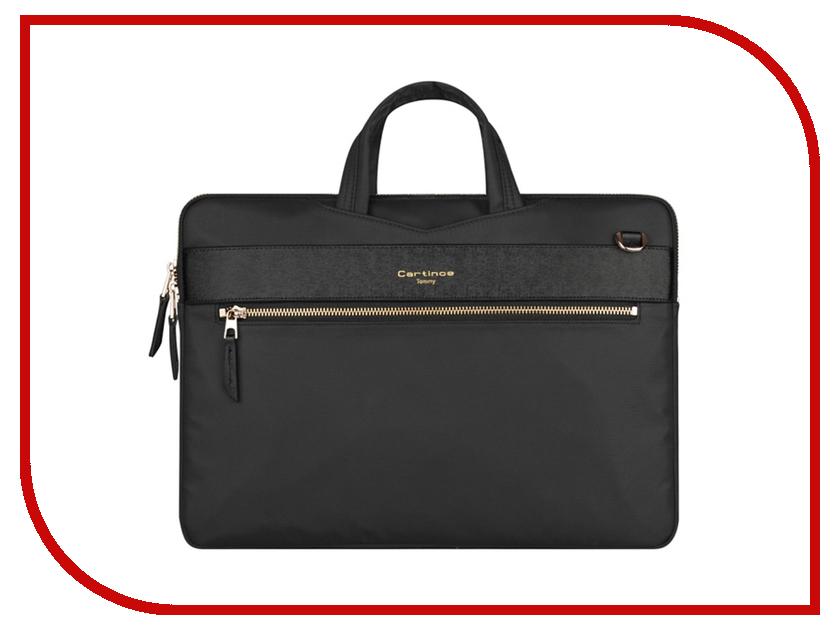 Аксессуар Сумка 15-inch Cartinoe Faceted для Macbook 15 Black