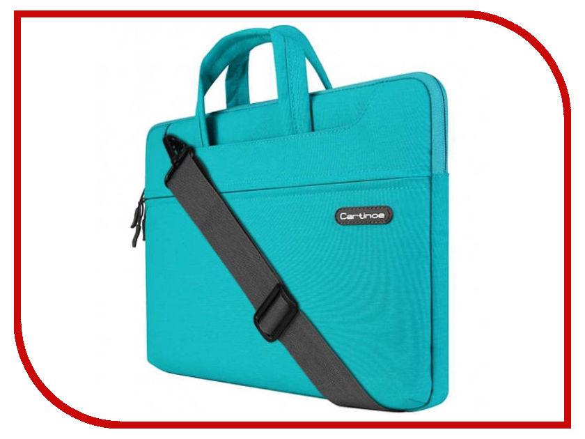 Аксессуар Сумка 13-inch Cartinoe Faceted для Macbook 13 Turquoise