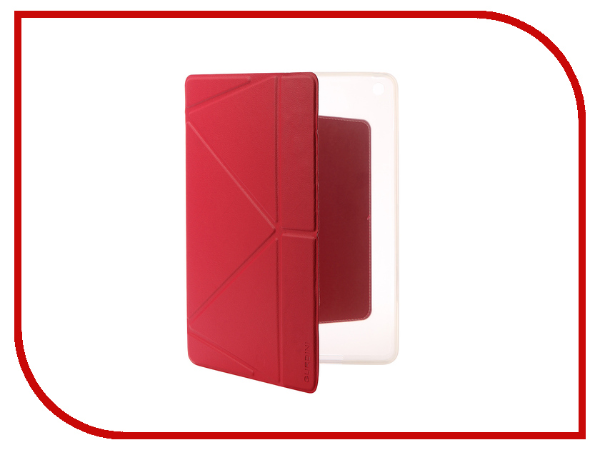 Аксессуар Чехол Gurdini Lights Series для APPLE iPad 9.7 2017 Crimson 903672 цена и фото