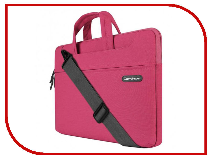Аксессуар Сумка 13-inch Cartinoe Faceted для Macbook 13 Crimson