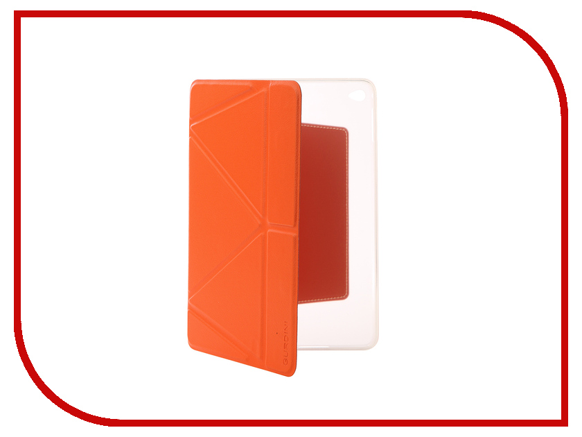 Аксессуар Чехол Gurdini Lights Series для APPLE iPad mini 4 Orange 410342 a201 desktop mini cooling usb fan with 4 speed wind orange