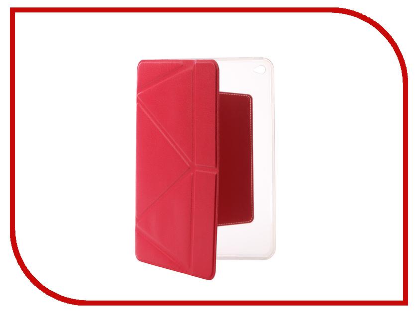 Аксессуар Чехол Gurdini Lights Series для APPLE iPad mini 4 Crimson 410339 цена и фото