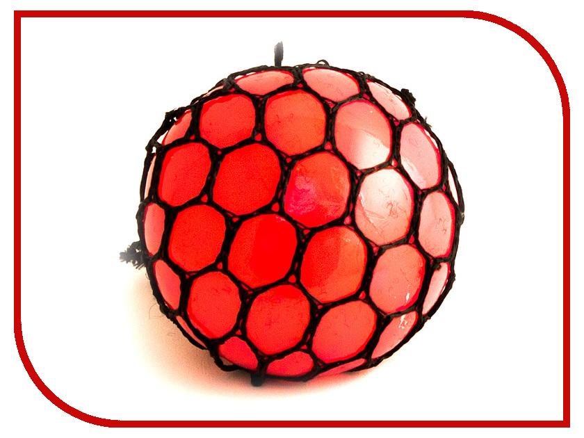Игрушка антистресс Эврика Шарик Red 98411 игрушка антистресс эврика курица 98082
