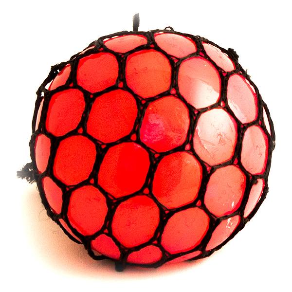 Игрушка антистресс Эврика Шарик Red 98411