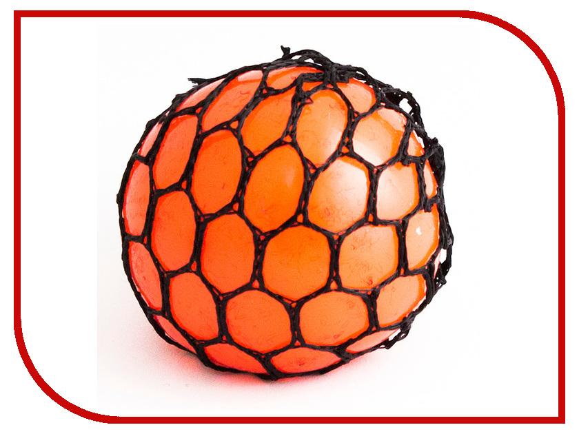 Игрушка антистресс Эврика Шарик Orange 98412 игрушка антистресс эврика курица 98082