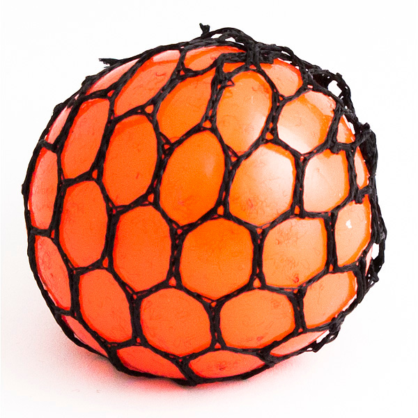 Игрушка антистресс Эврика Шарик Orange 98412