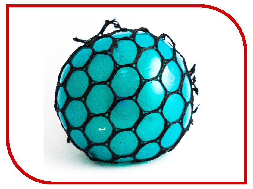 Игрушка антистресс Эврика Шарик Blue 98413 игрушка антистресс эврика курица 98082