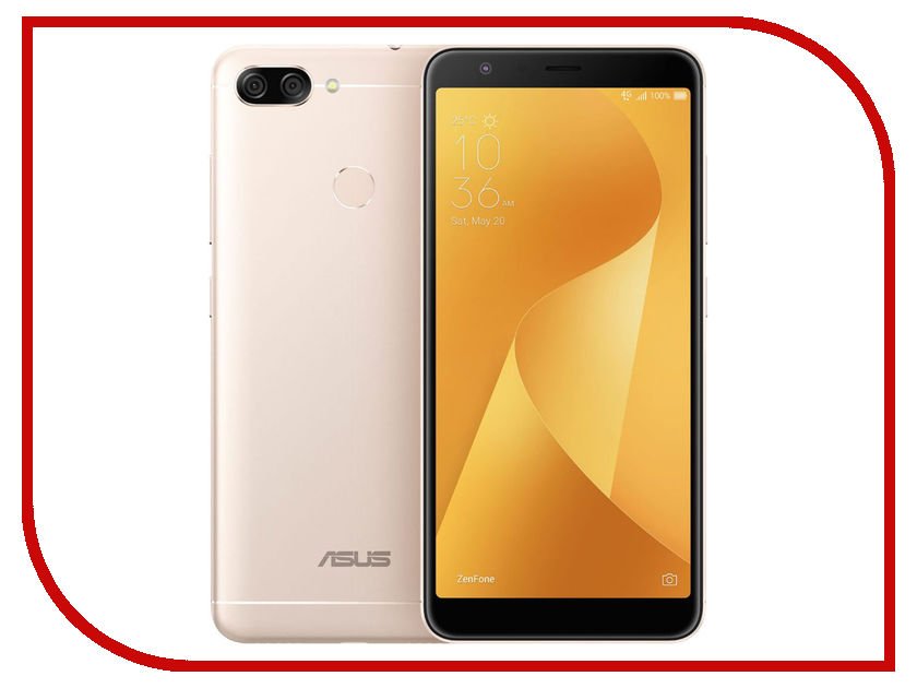 Zakazat.ru: Сотовый телефон ASUS ZenFone 4 Max Plus (M1) ZB570TL 64Gb Gold