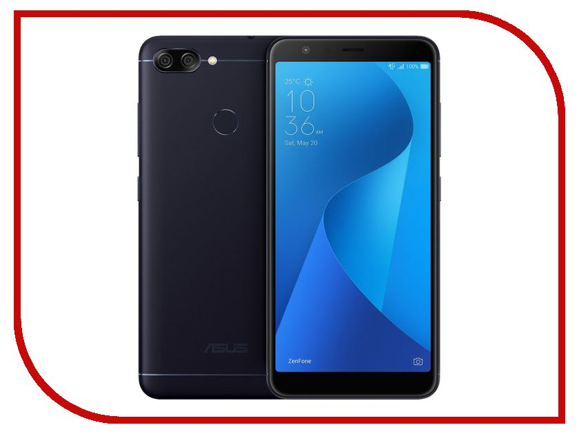 Zakazat.ru: Сотовый телефон ASUS ZenFone 4 Max Plus (M1) ZB570TL 64Gb Black