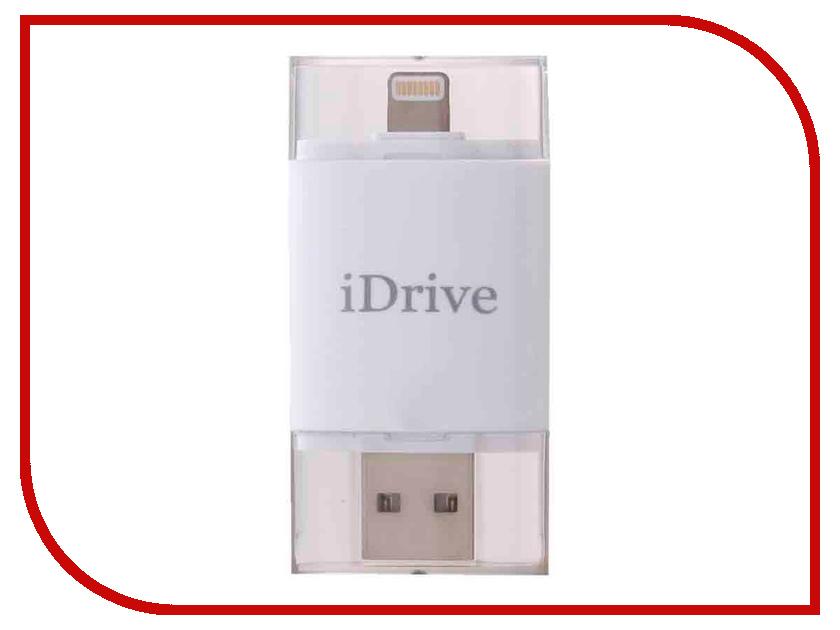 32Gb - iDrive iReader для APPLE iPhone/iPad White телефон apple iphone 7 32gb a1778 как новый black
