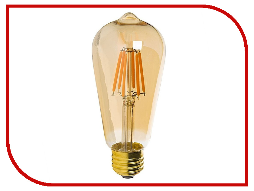 Лампочка Rev LED Filament Vintage ST64 E27 5W 2700K DECO Premium теплый свет 32435 5 st64 edison bulb led e27 love dimmable vintage filament retro lamp light fixture 220v 4w lighting 2300k amber gold clear glass