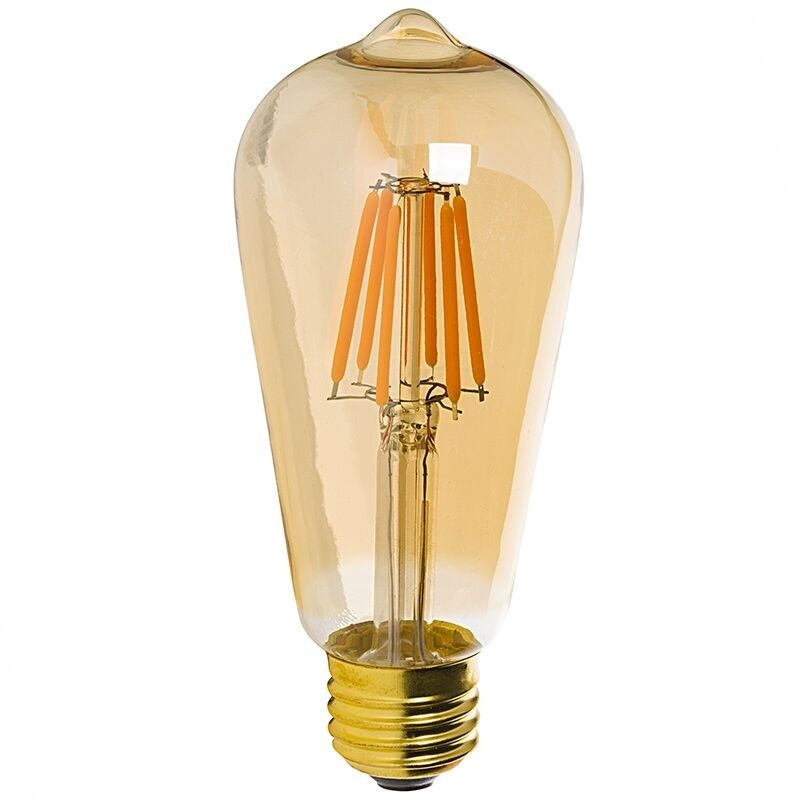 Лампочка Rev DECO Premium Filament Vintage LED ST64 E27 7W 180-240V 2700K 650Lm Warm Light 32436 2