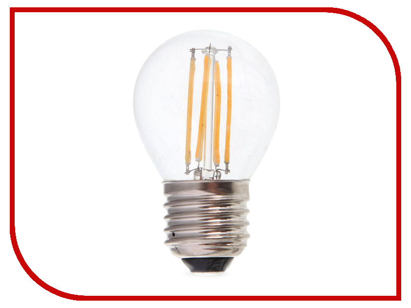 Лампочка Rev LED Filament Шарик E27 G45 7W 2700K DECO Premium теплый свет 32443 0 edison led filament bulb g125 big global light bulb 2w 4w 6w 8w led filament bulb e27 clear glass indoor lighting lamp ac220v