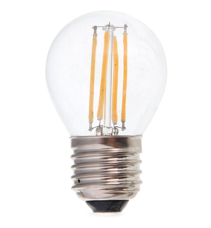 Лампочка Rev DECO Premium Filament LED Шарик G45 E27 7W 180-240V 2700K 650Lm Warm Light 32443 0