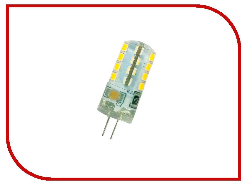 Лампочка Rev LED JC G4 2,5W 4000K холодный свет 220V 32438 6 лампочка rev led a60 e27 20w 4000k холодный свет 32405 8