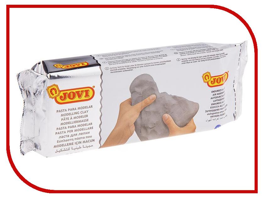 Набор для лепки JOVI Паста для моделирования Отвердевающая 500g Grey 85G jovi набор мягкой пасты и аксессуаров для лепки огород