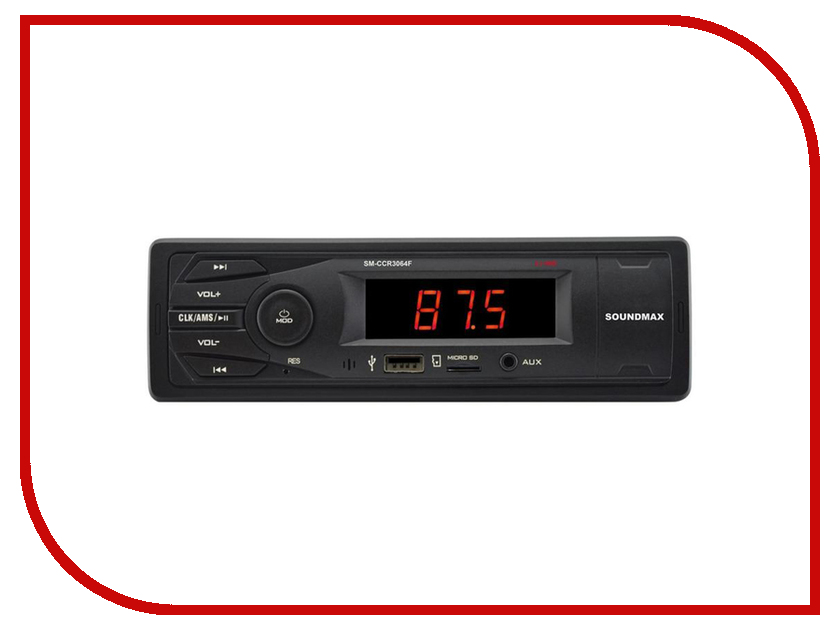 Автомагнитола Soundmax SM-CCR3064F автомагнитола soundmax sm ccr3056f