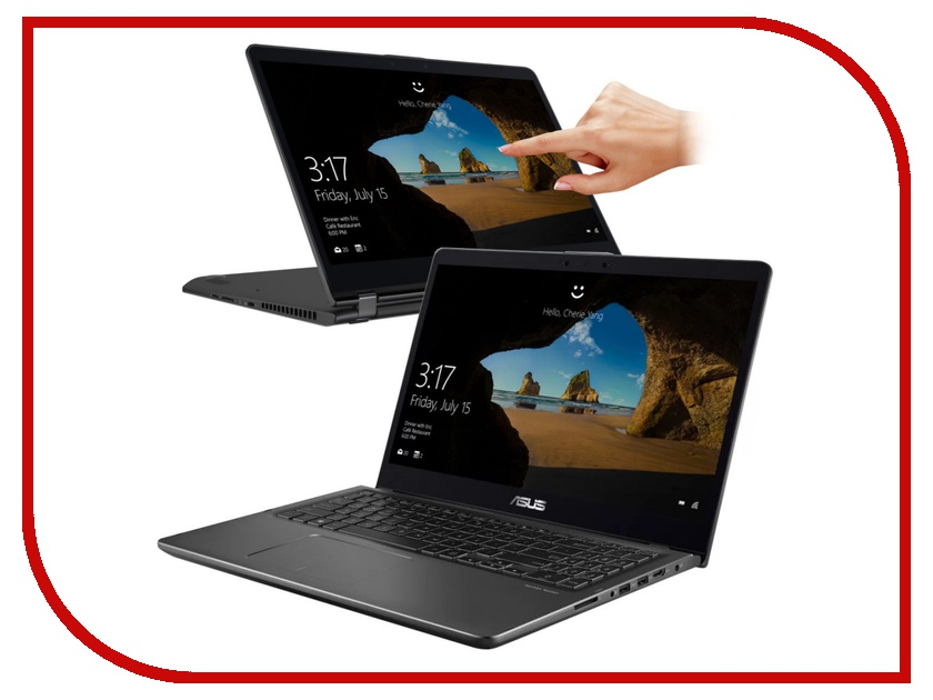 Ноутбук ASUS Zenbook Flip UX561UN-BO013R 90NB0G31-M00170 (Intel Core i7-8550U 1.8 GHz/8192Mb/1000Gb + 128Gb SSD/nVidia GeForce MX150 2048Mb/Wi-Fi/Bluetooth/Cam/15.6/1920x1080/Touchscreen/Windows 10 64-bit) ноутбук asus k751sj ty020d 90nb07s1 m00320