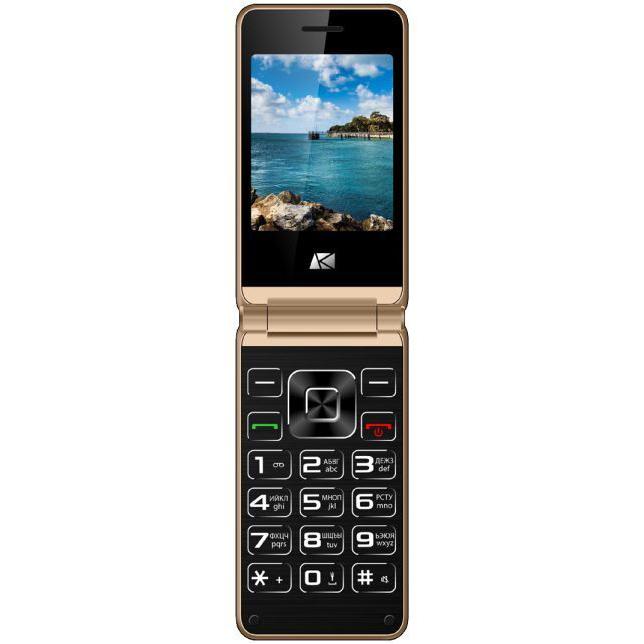Сотовый телефон Ark Benefit V1 Gold ark benefit m7 dual sim white
