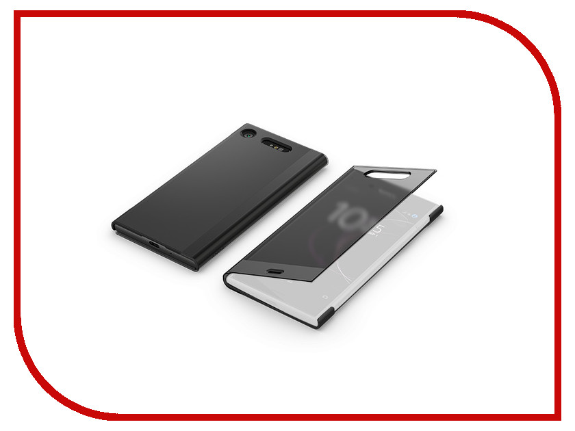 Аксессуар Чехол для Sony Xperia XZ1 Cover SCTG50 Black 10pcsx battery cover door case replacement repair parts for sony psp 1000 1001 black