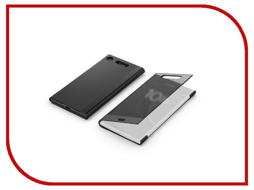 Аксессуар Чехол для Sony Xperia XZ1 Cover SCTG50 Black чехол sony touch cover white для xperia xz