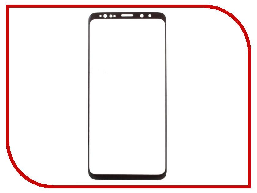 Аксессуар Закаленное стекло для Samsung Galaxy S9 DF Full Screen 3D sColor-34 Black