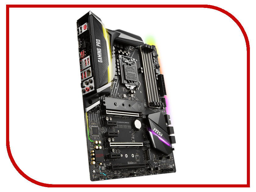 Материнская плата MSI Z370 Gaming Pro Carbon AC выключатель одноклавишный legrandquteo о у влагозащищенный ip 44 белый