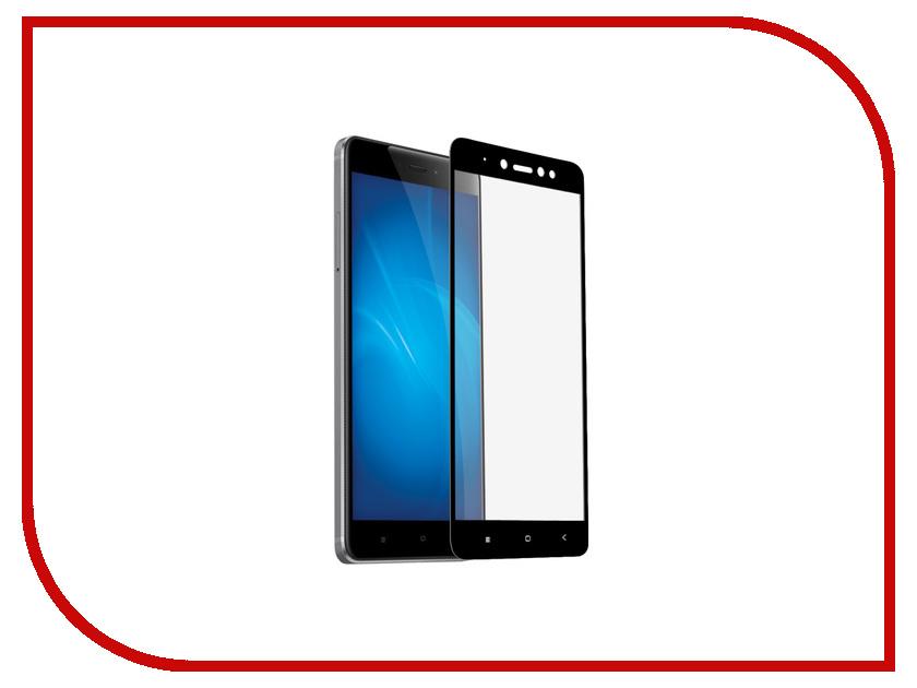 Аксессуар Закаленное стекло для Xiaomi Redmi 5A DF Full Screen xiColor-24 Black аксессуар