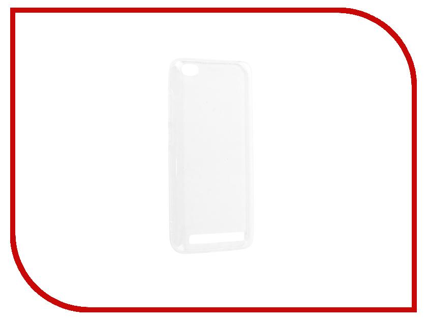 Аксессуар Чехол Xiaomi Redmi 5A Silicone DF xiCase-25 аксессуар чехол xiaomi redmi pro with love moscow silicone peace 6075
