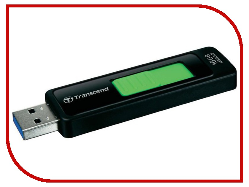 USB Flash Drive 16Gb - Transcend FlashDrive JetFlash 760 TS16GJF760<br>