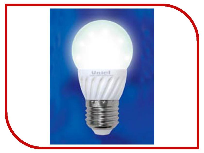 Лампочка Uniel Ceramic LED-G45-3W/WW/E27 200 Lm (теплый белый, 2700-3500К)<br>
