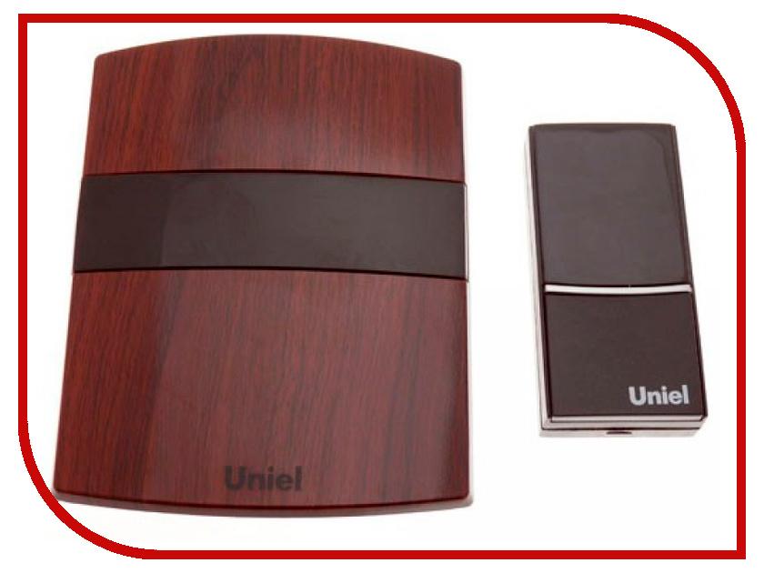 Звонок дверной Uniel UDB-001W-R1T1-32S-100M-MB звонок беспроводной 08318 uniel udb 011w r1t1 32s 150m wm
