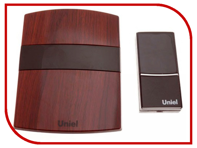 Звонок дверной Uniel UDB-001W-R1T1-32S-MB