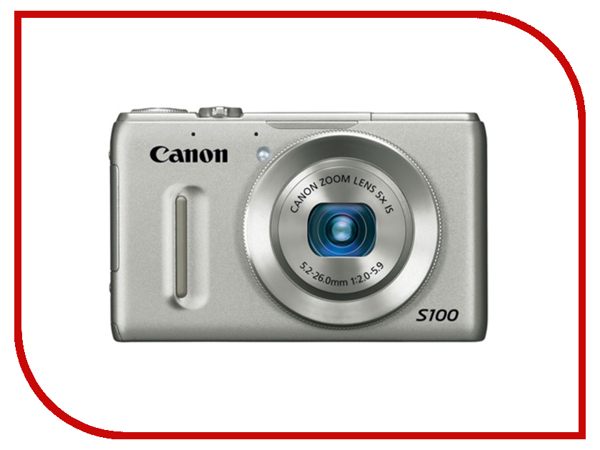 Фотоаппарат Canon PowerShot S100 Silver<br>