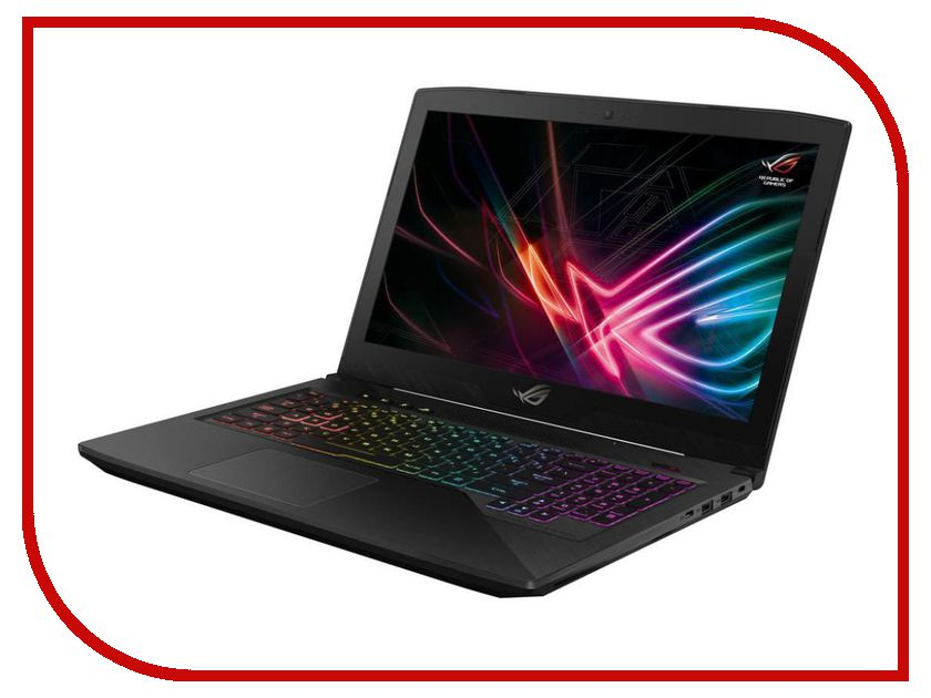 Ноутбук ASUS ROG GL503VD 90NB0GQ2-M06540 (Intel Core i5-7300HQ 2.5 GHz/8192Mb/1000Gb + 128Gb SSD/No ODD/nVidia GeForce GTX 1050 4096Mb/Wi-Fi/Cam/15.6/1920x1080/DOS) цена