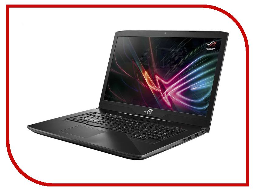Ноутбук ASUS ROG GL703VM 90NB0GL2-M03460 (Intel Core i7-7700HQ 2.8 GHz/12288Mb/1000Gb + 128Gb SSD/No ODD/nVidia GeForce GTX 1060 6144Mb/Wi-Fi/Cam/17.3/1920x1080/DOS) ноутбук msi gp72 7rdx 484ru 9s7 1799b3 484 intel core i7 7700hq 2 8 ghz 8192mb 1000gb dvd rw nvidia geforce gtx 1050 2048mb wi fi bluetooth cam 17 3 1920x1080 windows 10 64 bit