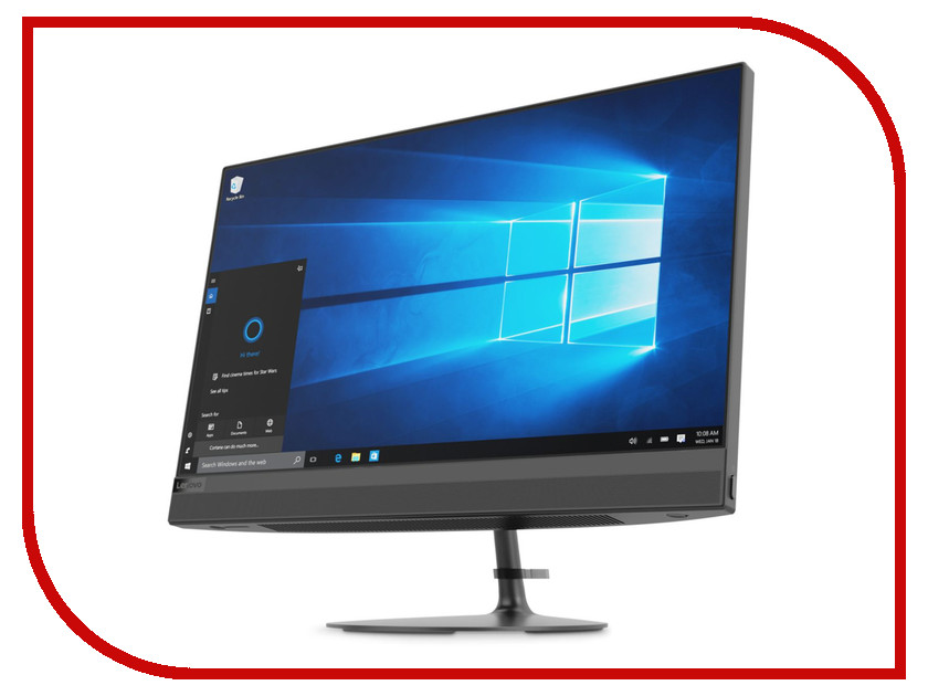 Моноблок Lenovo IdeaCentre AIO 520-24IKL Black F0D1002ARK (Intel Core i3-7100T 3.4 GHz/8192Mb/1000Gb/DVD-RW/Intel HD Graphics/Wi-Fi/Bluetooth/23.8/1920x1080/DOS) ноутбук hp 15 bs624ur 2yl14ea intel core i3 6006u 2 0 ghz 8192mb 1000gb dvd rw intel hd graphics wi fi cam 15 6 1920x1080 dos