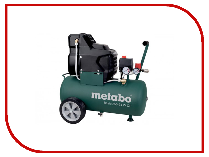Компрессор Metabo Basic 250-24 W OF 601532000 компрессор metabo power 25010 w of 601544000
