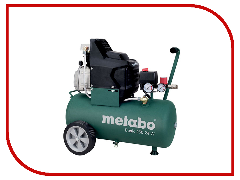 Компрессор Metabo Basic 250-24 W 601533000 компрессор metabo power 25010 w of 601544000