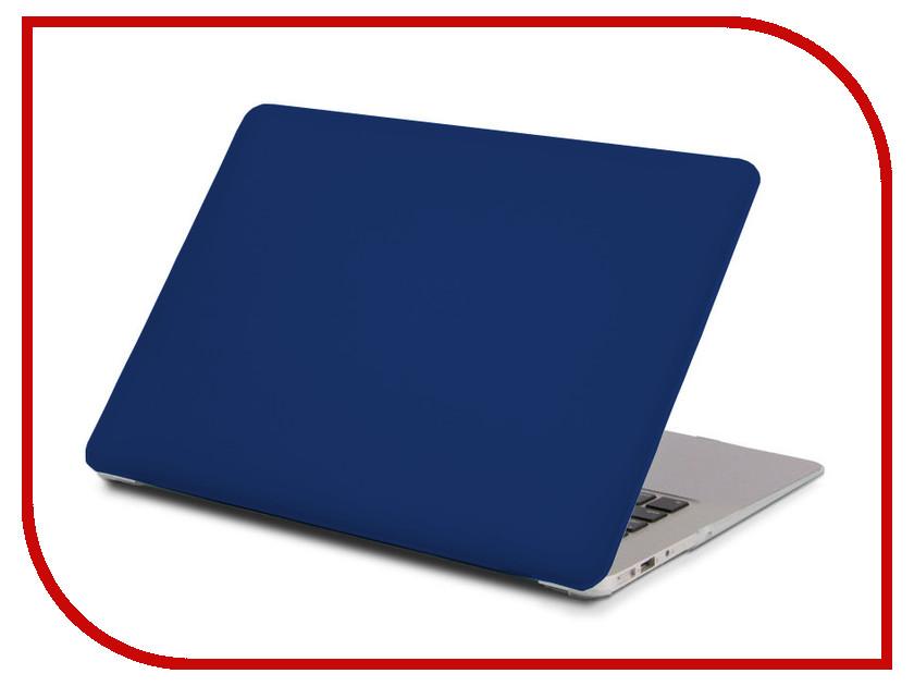 Аксессуар Чехол 13.3-inch Gurdini для APPLE MacBook Retina 13 Matt Blue