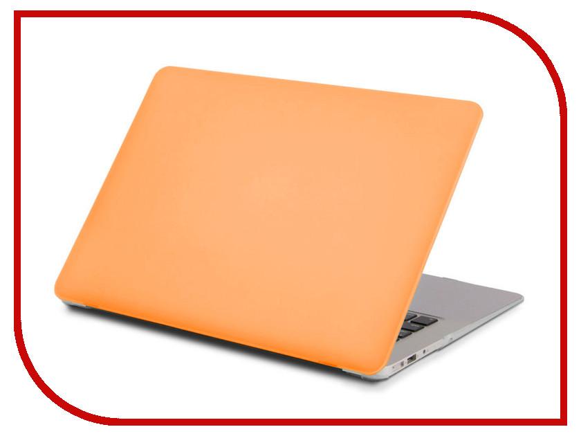 Аксессуар Чехол 13.3-inch Gurdini для APPLE MacBook Retina 13 Matt Orange