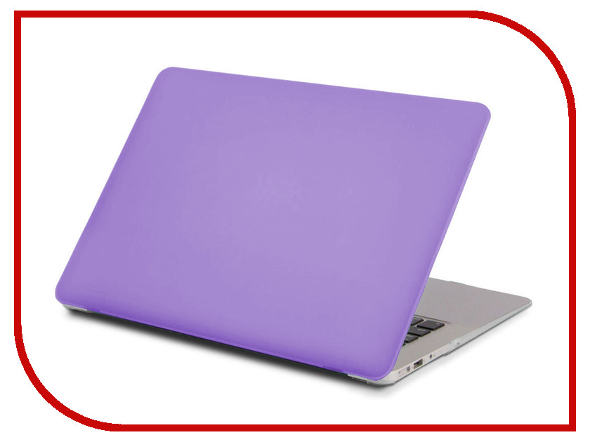 Аксессуар Чехол 13.3-inch Gurdini для APPLE MacBook Retina 13 Matt Purple