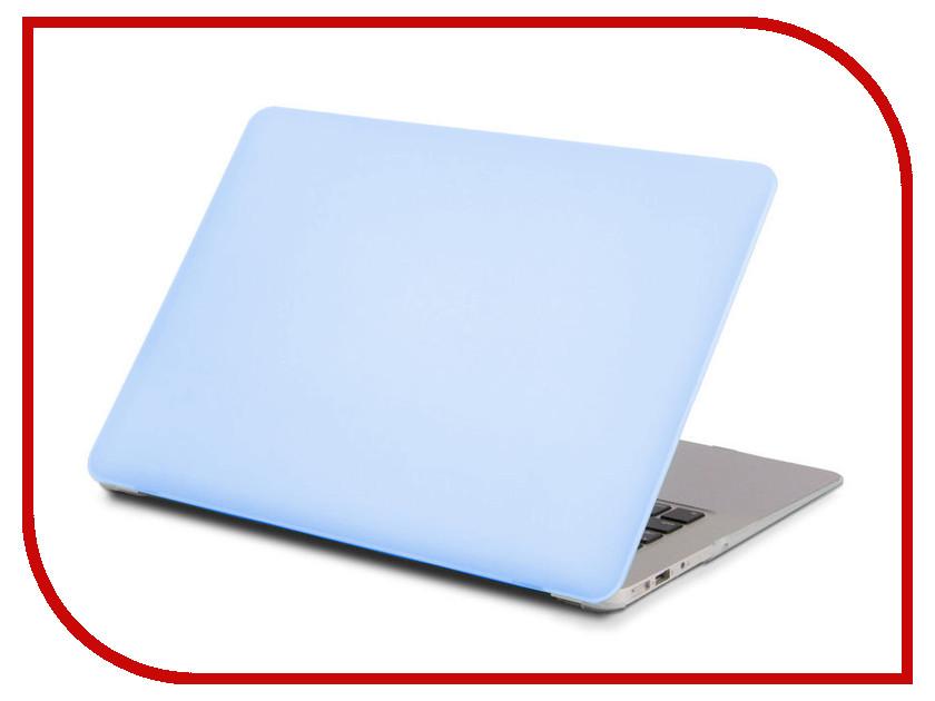 Аксессуар Чехол 13.3-inch Gurdini для APPLE MacBook Retina 13 Matt Light Blue