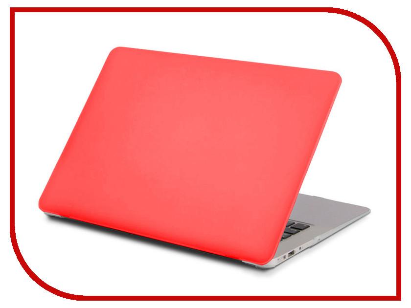 Аксессуар Чехол 13.3-inch Gurdini для APPLE MacBook Retina 13 Matt Red