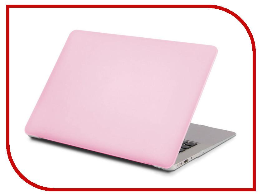 Аксессуар Чехол 13.3-inch Gurdini для APPLE MacBook Retina 13 Matt Pink