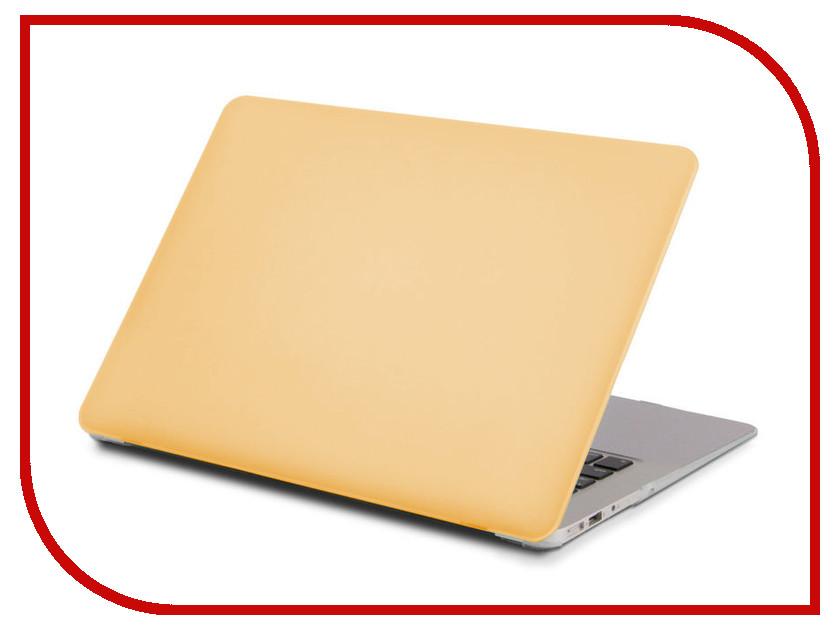 Аксессуар Чехол 13.3-inch Gurdini для APPLE MacBook Retina 13 Matt Gold